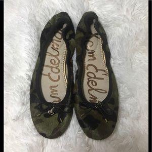 8c0c50dcd08fba Sam Edelman Shoes - Sam Edelman Felicia Camo Calf Hair Flats